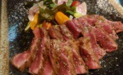 ザブトンのステーキ