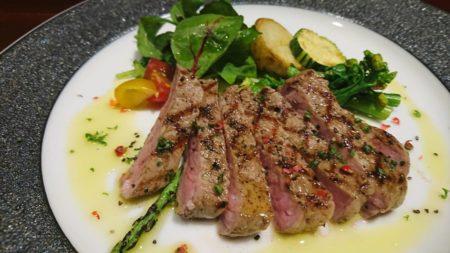 ビーフランチ  仔牛のリヴステーキ